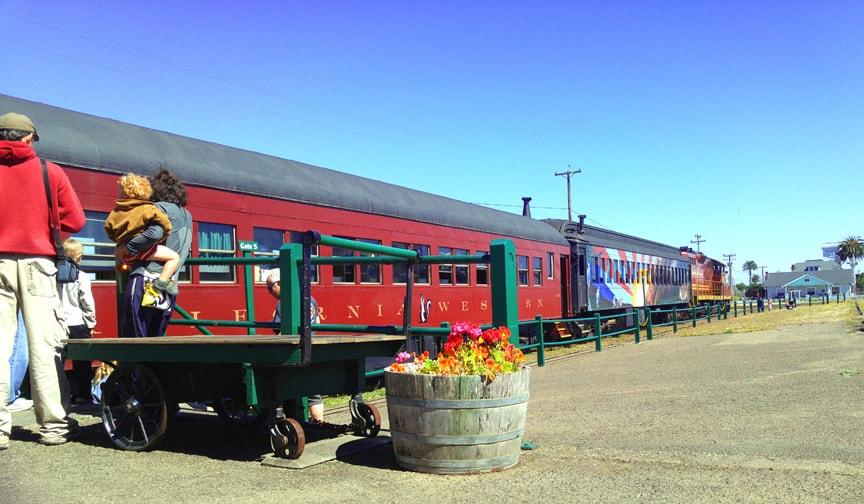 Skunk Train, Fort Bragg CA