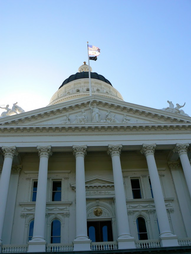California's State House in Sacramento.