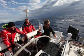 Twice Around the World aboard the Yacht Scorpius