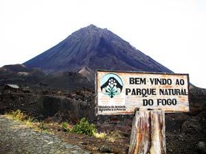Mount Fogo is an active volcano - photos by Anna Etmanska
