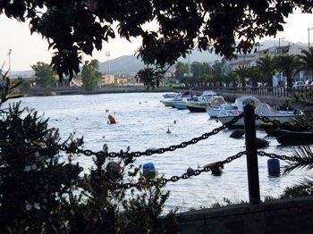 Marina in Golfo Aranci, Sardinia.