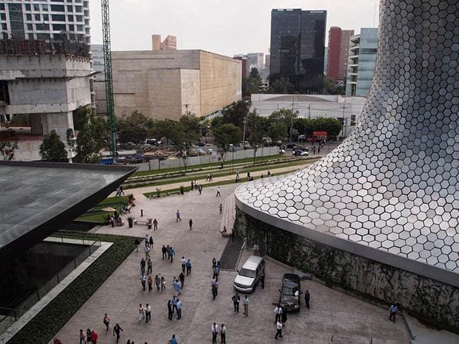 Soumaya Museum in Mexico City. Max Hartshorne photos.