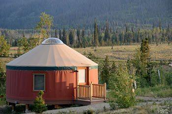 A yurt in Colorado.
