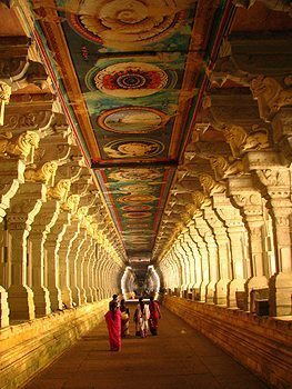Rameswaram temple. photos by Mark Lester