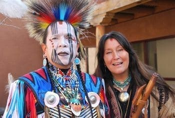 Morningsong and Fontenelle, artists in Albuquerque, NM. photos by Sonja Stark.