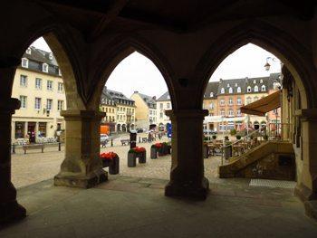Echternach marketplace