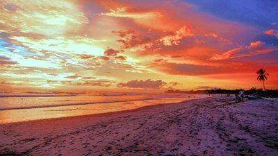 Playa Guinones, Nosara Costa Rica.