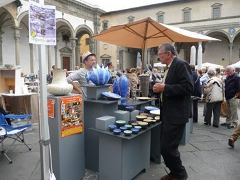 Fierra della Ceramica, in Florence