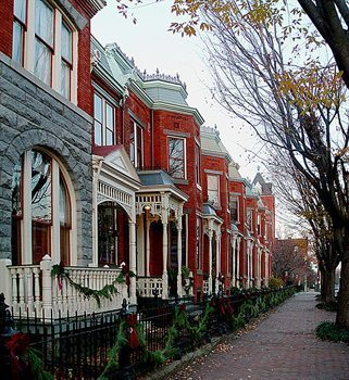 Gentrified Church Hill, Richmond.