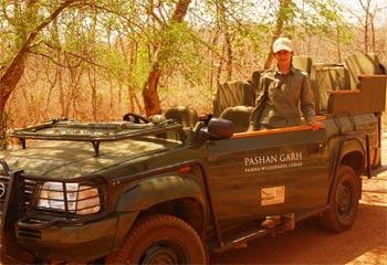 Ratna Singh on patrol.