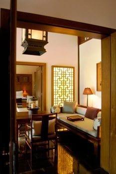 Inside the elegant Summer Palace.
