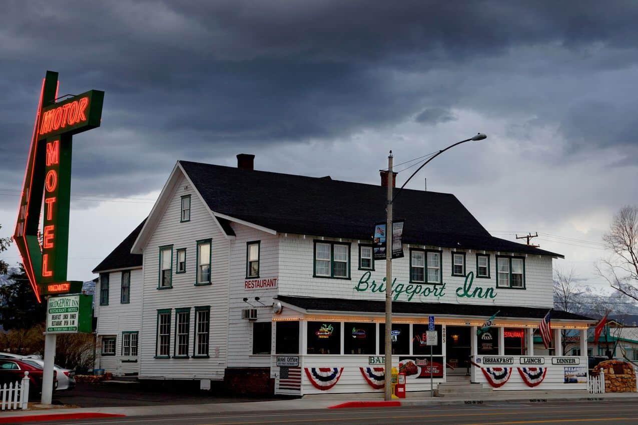 The Bridgeport Inn.