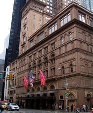 Carnegie Hall, home of many a great Dylan show.