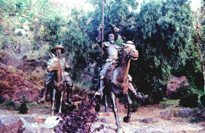 Don Quixote statue in Guanajauto, Mexico. (Kent E. St. John photo)