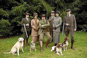 Downton Abby Shooting Style
