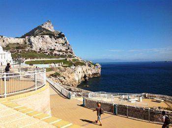 Europa Point...the Rock of Gibraltar. photos by Habeeb Salloum
