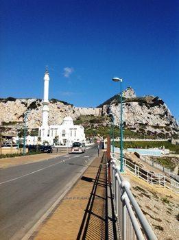 A mosque in Gibraltar.
