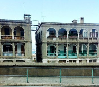 Homes in Gibraltar.