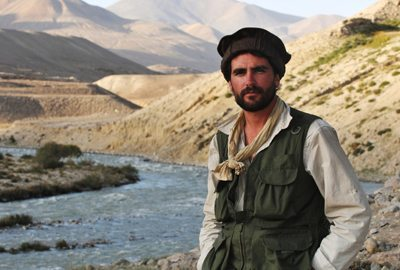 Levinson Wood in Afghanistan