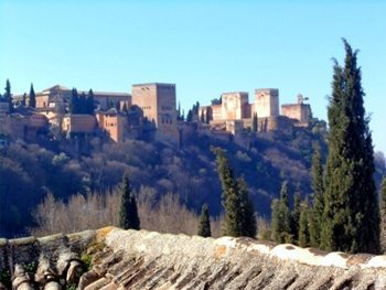 View of the Alhambra from Sacromonte