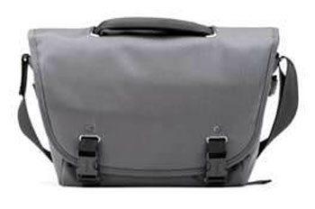 The Python Courier Camera Bag keeps your camera safe.
