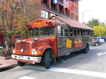 Banjo Billy's Bus in Boulder, Colorado