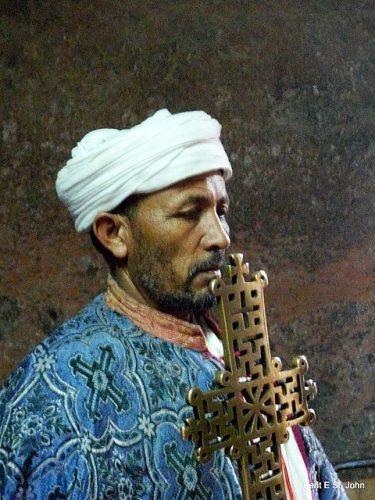 A patriarch in Lalibela