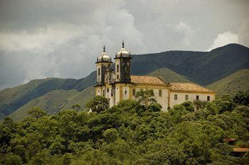 A historic town in Brazil.