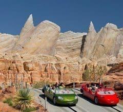 Disneyland's Cars Land.