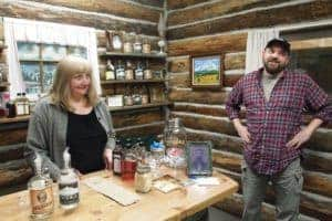 Troy Smith and his wife run Mount Baker Distillery in Bellingham.