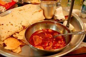 Dizi dinner in Abyaneh, Iran.
