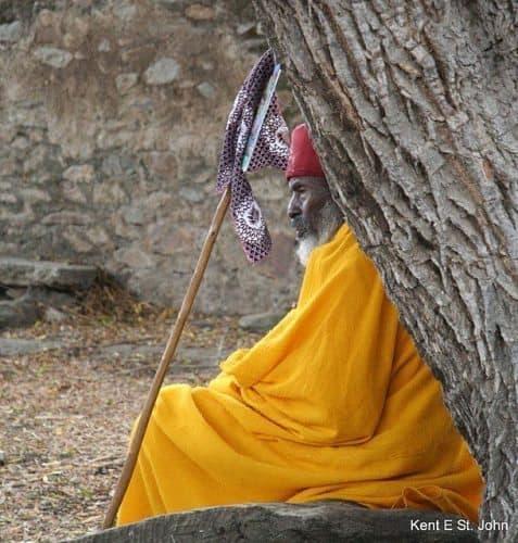 An elder in Axum