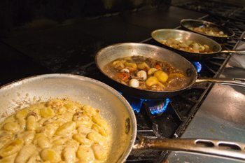 Home cooked food in the Adirondacks.