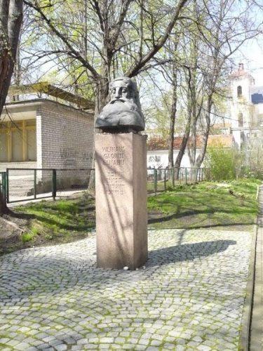 Memorial to Elijah ben Shlomo Zalman Kremer, also known as Vilna Gaon, the saintly genius from Vilnius