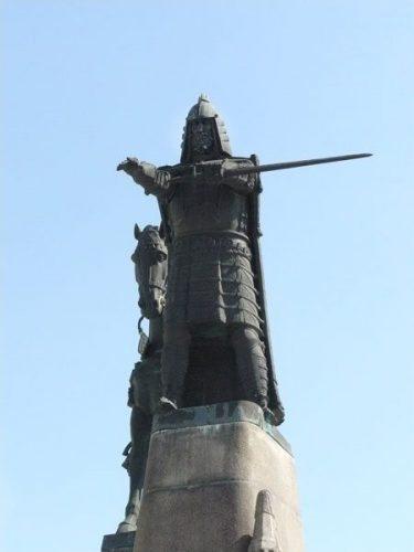 Grand Duke Gediminas, founder of Vilnius