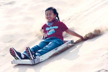 Inner Mongolia: Surfing on Singing Sands