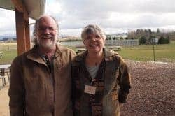 John and Dorie Belisle, of Bellewood Acres, grow apples and other crops in Lynden, outside of Bellingham, Washington.