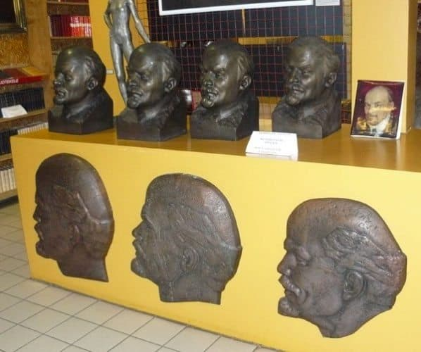 Busts and reliefs of Lenin