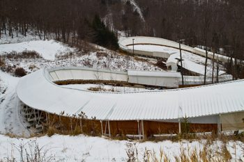 The Luge at Lake Placid.