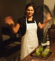 Chef Monica Patino, owner of three upscale restaurants in Mexico City.