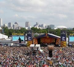 New Orleans JazzFest, photo c. David Grunfeld Nola.com
