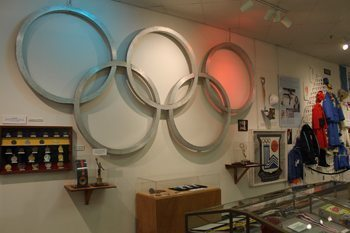 Olympics Museum in Lake Placid, where two Olympic games have been held.