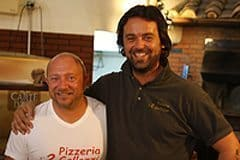 Patricio and Mario, Pizza makers extraordinaire.