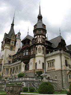 Peles Castle, just outside Bucharest, Romania.