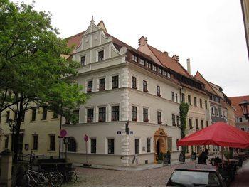 Pirna street scene.