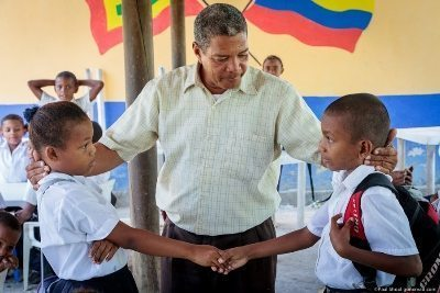 Learning how to be civil in Isle de Sol, Colombia. Paul Shoul photo