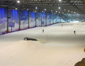 You can ski all year 'round at the Snow Arena in Druskininkai.