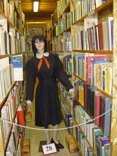 Grutas Park also has a vast library of Soviet propaganda.