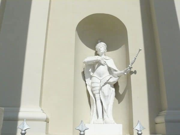 Sculpture at City Hall