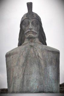 Vlad the Impaler, Romania's most famous historic figure.